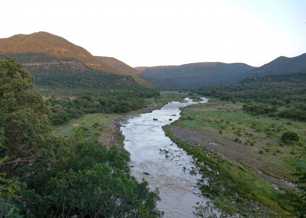 River in the Zingela Game Reserve